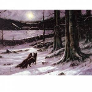 """Sally Mitchell  """"The Midnight Tryst"""" Chirstmas Cards"""