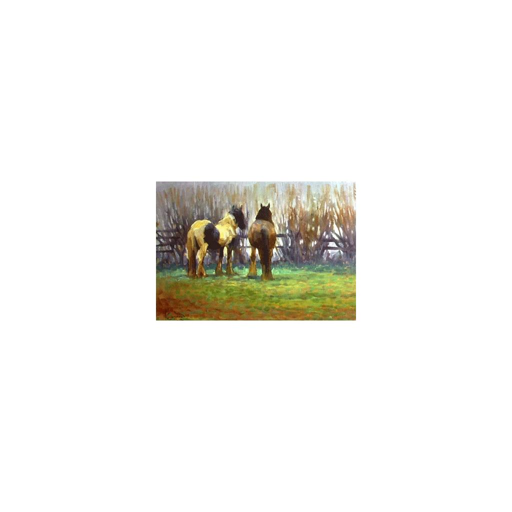 Peace and Quiet Blank Greeting Cards - 6 Pack