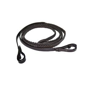 Exselle Elite Plaited Leather Reins