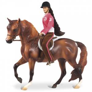 Breyer Let's Go Riding English Set
