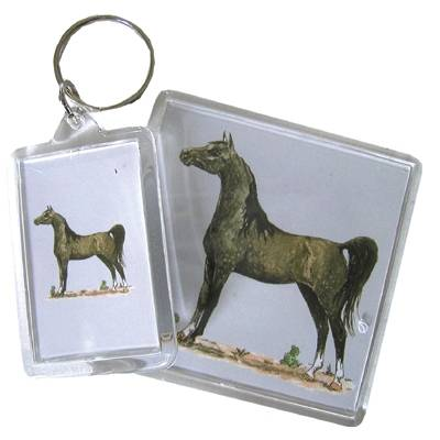 Acrylic Key Ring Arabian