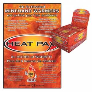Techniche Heat Pax Hand Warmers - 40 Pairs