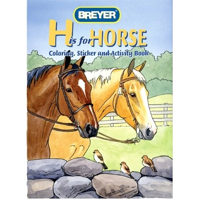 """Breyer """"H"""" is for Horse Activity Book"""
