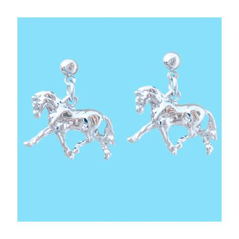Beverly Zimmer Dressage Horse Earrings