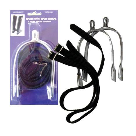 Mens Humane Spur with Nylon Strap Pack