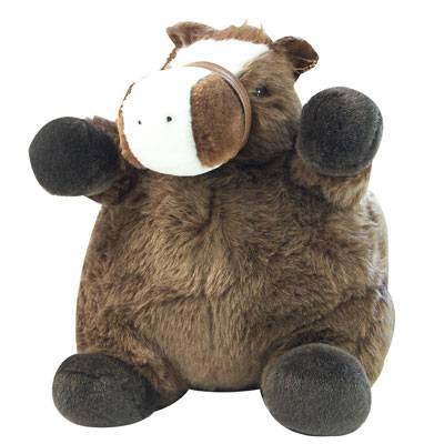 Albert Plush Fat Pony Stuffed Animal