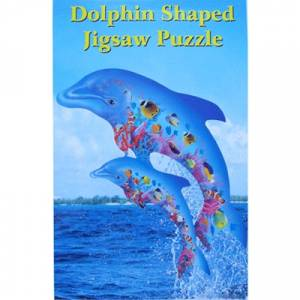 Dolphin Shaped Puzzle - 750 Piece