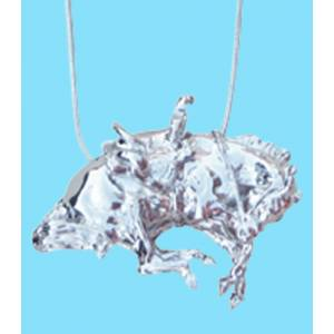 Beverly Zimmer Bucking Bronco Pendant