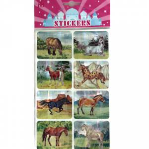 Hologram Horse Stickers - Large
