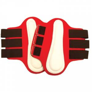 Splint Boots with White Patches