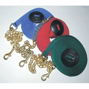 Poly Lunge Line with Chain and Rubber Stopper