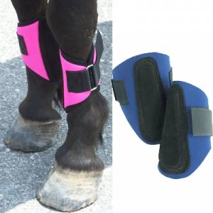 Intrepid Miniature Horse Hook & Loop Closure Splint Boots