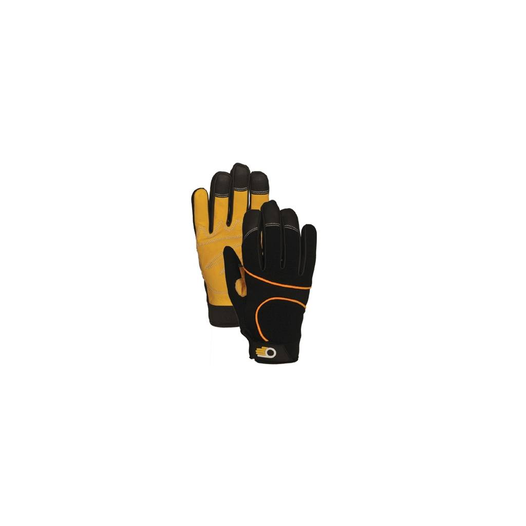 Atlas Mens Performance Work Gloves with Leather Palm