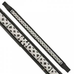 Exselle Elite Celtic Stitch Design Browband