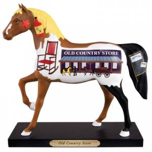 Trail of Painted Ponies Old Country Store Figurine