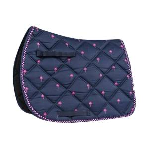 Lettia Embroidered Saddle Pad