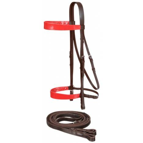 Equiroyal Draft Horse Saddle Seat Bridle