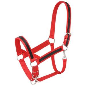 Tough-1 Premium Nylon Draft Halter with Overlay