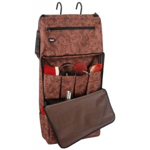 Tough-1 Print Portable Grooming Organizer - Tooled Leather Print