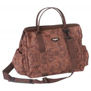 Tough-1 Print Show Case Groom Bag - Tooled Leather Print