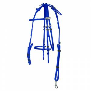 Finntack Synthetic American Racing Bridle