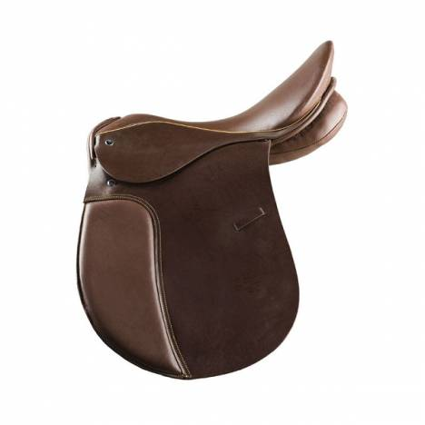 HorZe AllrouNarrowd Leather Saddle Wide/ WideoodeNarrow Tree