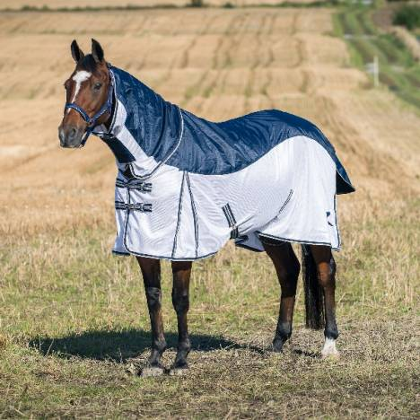 HorZe Bristol Fly Blanket with Waterproof Back