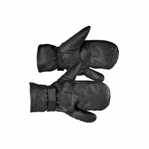Horze Unisex Leather Riding Mittens