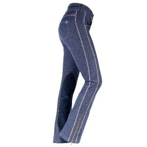 HorZe Aleiga Women's Denim Jodhpur Breeches