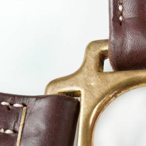 Finntack American Quality Leather Halter - Adjustable Chin