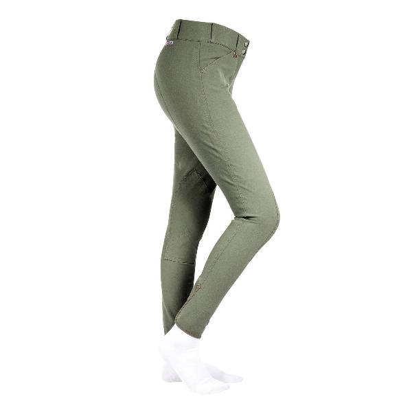 Horze Ladies Grand Prix Leather Knee PatchBreeches