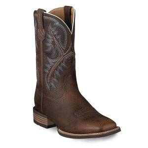 Ariat Quickdraw Western Boots - Mens - Brown Oiled Rowdy