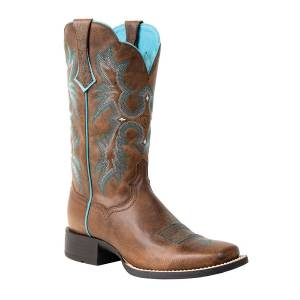 Ariat Tombstone Western Boot - Ladies - Sassy Brown