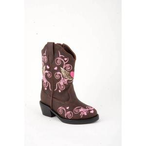 Roper Infant Winged Heart Fashion Cowgirl Boots