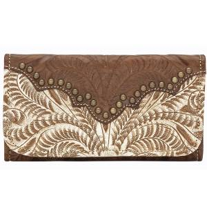 American West Annies Secret Collection Tri-Fold Wallet