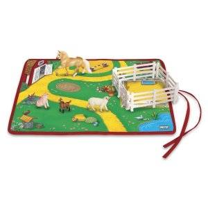 Breyer Stablemate Roll and Go Farm Playset