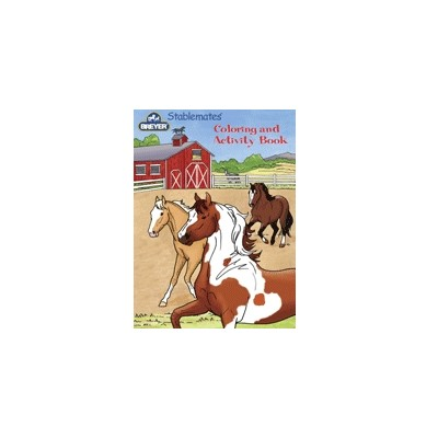Breyer Stablemate Coloring and Activity Book