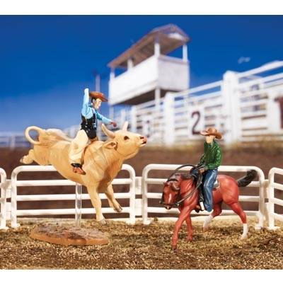 Breyer Stablemates Rodeo Set
