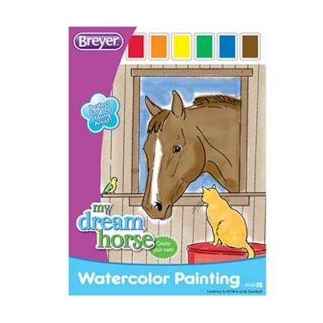 Breyer Watercolor Painting Activity Book