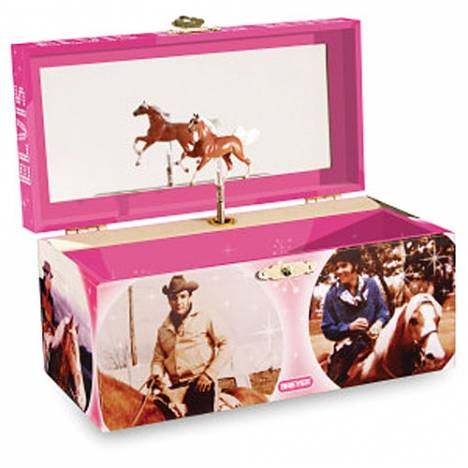 Breyer Horse Elvis Musical Treasure Box