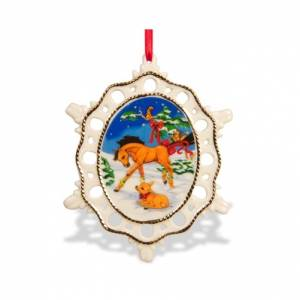Breyer Winter in the Woods Buddies Ornament
