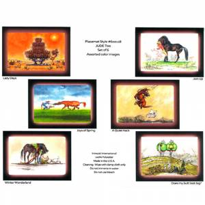 Jude Too Placemats-Color/6Pk