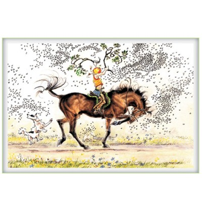 Mounted Aerobics Blank Greeting Cards - 6 Pack