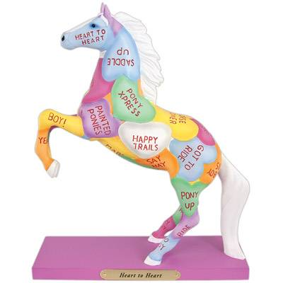 The Trail of Painted Ponies Heart To Heart Figurine