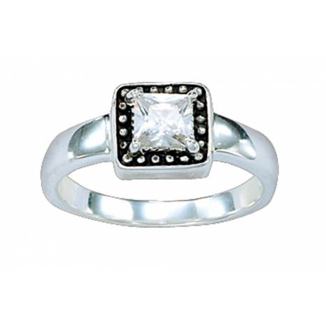 Montana Silversmiths Western Princess Solitaire Ring