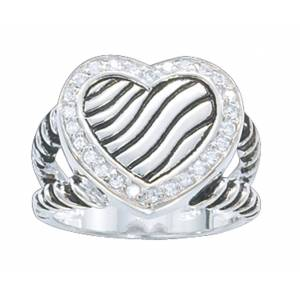 Montana Silversmiths A Big Heart Ring