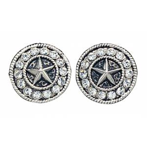 Montana Silversmiths Starlight Concho Post Earrings