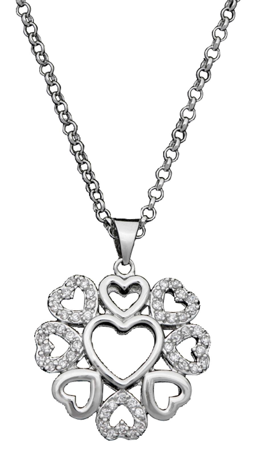Montana Silversmiths Vintage Charm My Heart Blooms Necklace