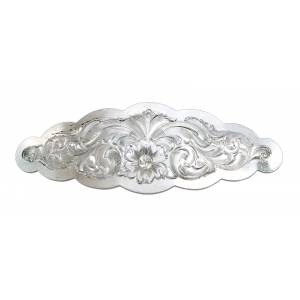 Montana Silversmiths Small Scalloped Montana Silver Barrette