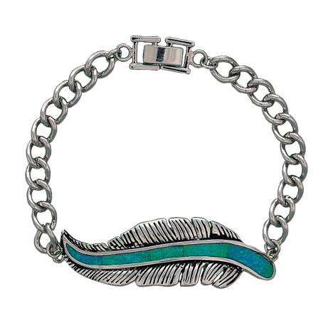 Montana Silversmiths The Storyteller Feather Bracelet